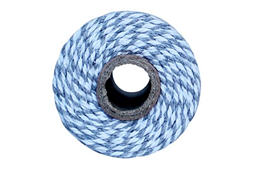 Thick 12 Ply 100 Yard Bakers Twine (Grey)