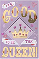 American Greetings Funny Queen Mother's Day Card with Foil