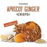 Wild California Twice Baked Crunchy Crisps 5oz (Apricot Ginger)