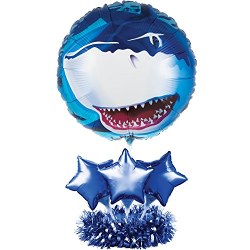 Creative Converting Balloon Centerpiece Kit, Shark Splash -  049897