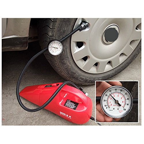 HITSAN Coido 6022 12V 55W Multi-function Car Vacuum Cleaner Red One Piece by HITSAN (Image #5)