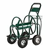 Garden Water Hose Reel Cart 300FT Outdoor Heavy Duty Yard Water Planting New