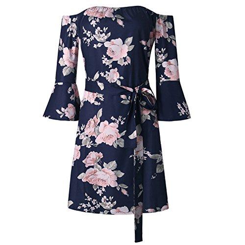 Island Floral Print Dress - 5