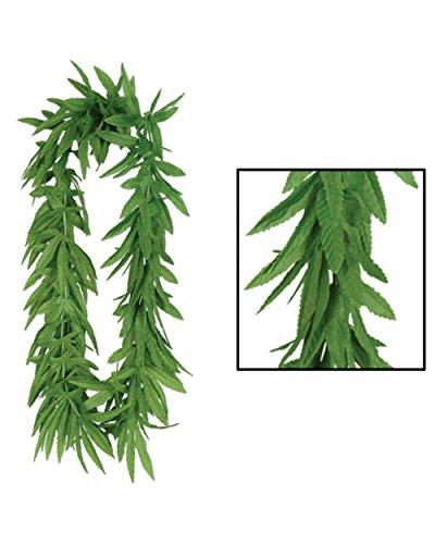 Tropical Fern Leaf Lei 40in