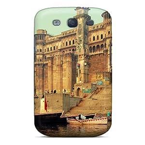 Excellent Design Varanasi India Phone Case For Galaxy S3 Premium Tpu Case