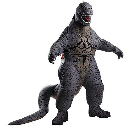 Rubie's Men's Godzilla Adult Inflatable Air Blown, Multicolor,
