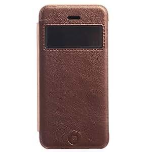 Kalaideng KLD KA Series Smart View Folio PU Leather Case for iPhone 5c - Retail Packaging - Bronze