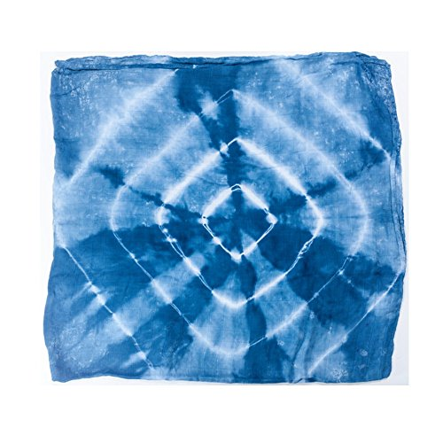 """j /& alex/'s Hand Dyed Cotton Muslin Swaddle Blankets in /""""Skyview/"""" 2 count New"""