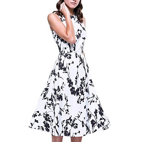 cestvue-women-dresses-vintage-dresses-for-women-1950-floral-casual-cocktail-clothinglblack