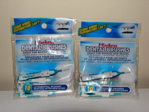 Plackers Dental Brushes Pack Interdental product image