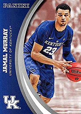 Jamal Murray basketball card (Kentucky Wildcats) 2016 Panini Team Collection #12