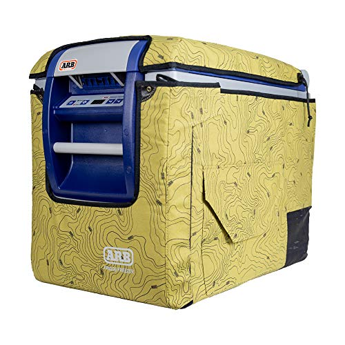 ARB Protective Canvas Transit Bag for Portable 50 Quart Fridge Freezer, Topo