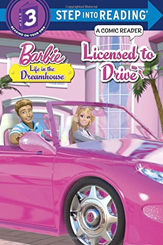 Licensed Tie - Licensed to Drive (Barbie Life in the Dream House) (Step into Reading)