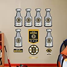 NHL Boston Bruins Stanley Cup Collection Real Big Wall Decals