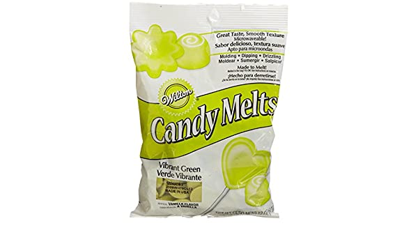 Amazon.com : 20 x Wilton 12 oz (340g) VIBRANT GREEN Candy ...