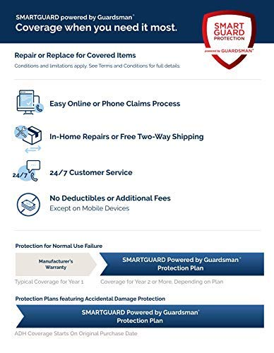 SmartGuard Powered by Guardsman - 3-Year DOP - Furniture Plan ($200-300)-Email Delivery