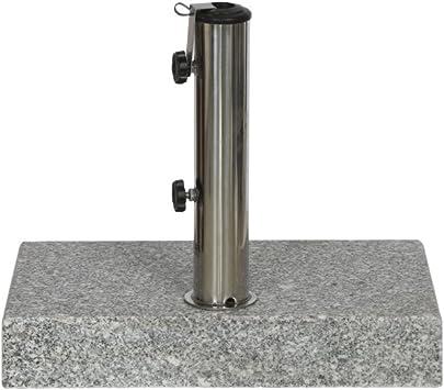 weiß Kunststoffrohr 21-54 mm siena GARDEN Schirmständer Fill Foot 25kg