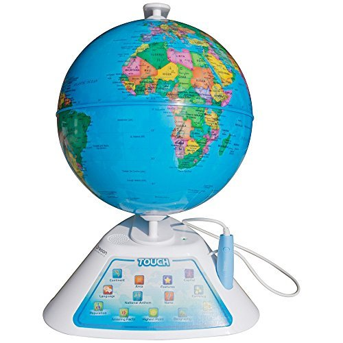 Oregon Scientific Smart Globe Discovery Educational World Geography Kids - Learning (Smart Kids Toys)