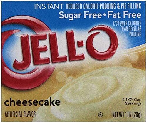Jell-O Sugar-Free Instant Pudding & Pie Filling, Cheesecake, 1 - Jello Pie