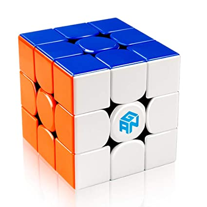 Magic Cubes Toys & Hobbies High Quality Gan 356r Puzzle Magic Speed Cube 3x3 Non Sticker Professional Gan356r Speed Cubo Magico Toys For Children