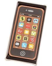 Smartphone en chocolat - couleur noire - 40 g