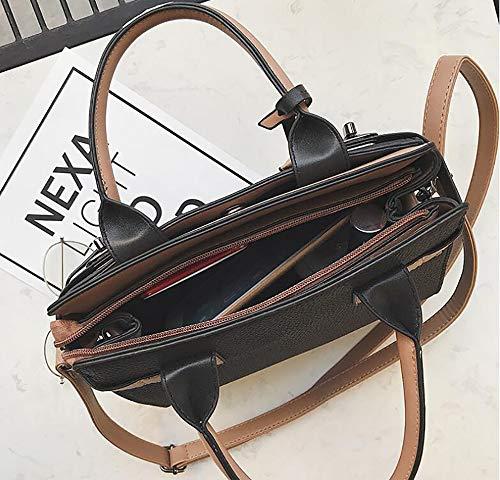 à 21cm Khaki LIGYM bandoulière Sacs 13 en à Cuir croisés Centrale PU Sacs Sacoche Mode d'unité 24 Tout bandoulière fourre La q1R4HCqz