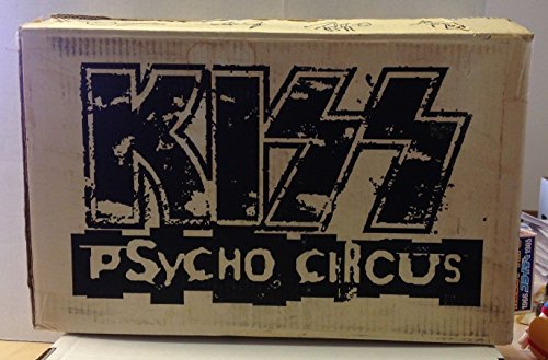 Kiss Psycho Circus All 4 Action Figures McFarlane Case Box Set