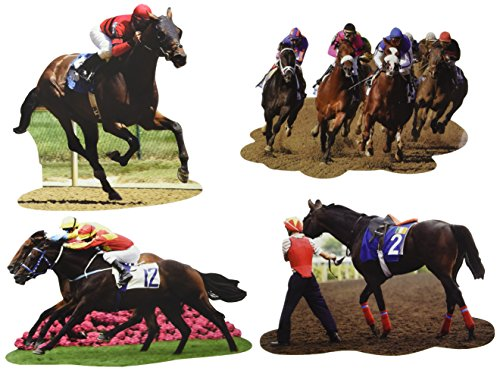 Horse Race Decorations - Derby Day Cutouts