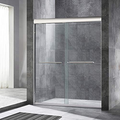 For Sale! WOODBRIDGE 60 x 72 Double Sliding Frameless Shower Door (56 to 60 by 72), Finish, MSD...