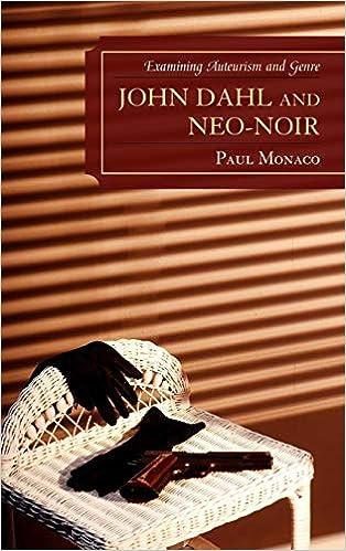 3e421077e Amazon.com: John Dahl and Neo-Noir: Examining Auteurism and Genre (Genre  Film Auteurs) (9780739133316): Paul Monaco: Books