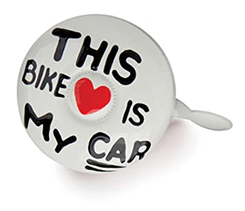 Kikkerland Dring Dring Bike Bell This Bike Is My Car