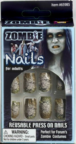 Home Improvement Halloween Costumes (Fake Zombie Nails)
