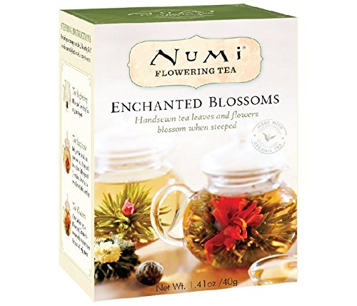 Numi Organic Tea Enchanted Blossoms Refill, Flowering Tea Variety Pack, 1.41 Ounce
