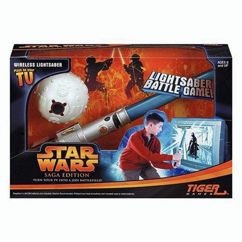 - Star Wars Light Saber Battle Game