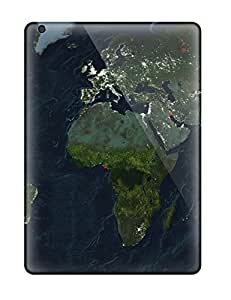 CeXyiVT2150YlEyJ Anti-scratch Case Cover Mary David Proctor Protective Map Case For Ipad Air