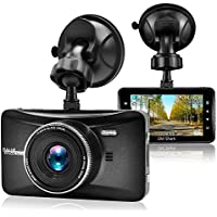 Old Shark Dash Cam, 3 1080P HD Car Recorder 170 Wide Angle Night Vison Dashboard Camera with G-Sensor, Loop Recording, WDR, Parking Guard