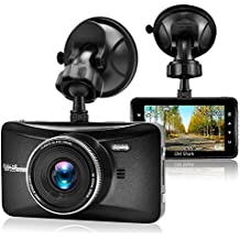 "OldShark Dash Cam, 3"" 1080P HD Car Recorder 170 Wide Angle Night Vison Dashboard Camera with G-Sensor, Loop Recording, WDR, Parking Guard"