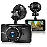 Old Shark Dash Cam, 3' 1080P HD Car Recorder 170 Wide Angle Night Vison Dashboard Camera with G-Sensor, Loop Recording, WDR, Parking Guard