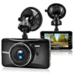 OldShark Dash Cam, 3″ HD Car Recorder Wide Angle Night Vison Dashboard Camera with G-Sensor, Loop Recording, WDR, Parking Guard 1080P 170