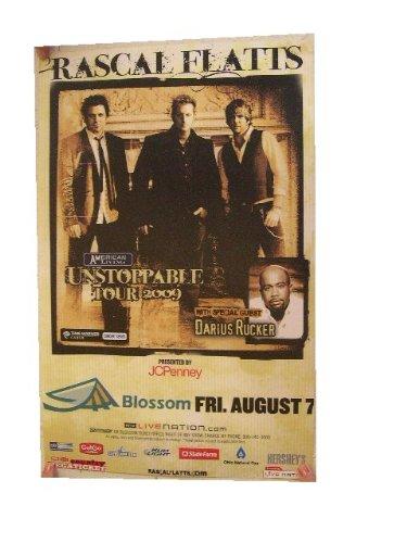 Rascal Flatts Poster Handbill Flats Band Shot
