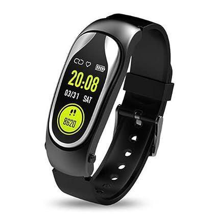 Amazon.com: KR04 Men Women Smart Watch Fitness Tracker Heart ...