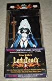 """Brian Pulido's Lady Death: 12"""" Royal Lady Death (Black Costume), the Original Lady Death Action Figure Sculpted By Clayburn Moore with Lady's Death's Golden Sword of Power"""