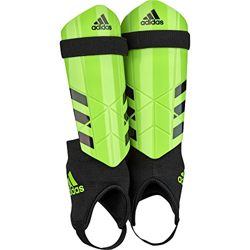 Adidas Ghost Youth Shin Guards, Solar Green, Medium