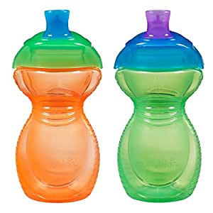 Munchkin Click Lock 2 Count Sippy Cup, 9 ounce (Discontinued by Manufacturer)