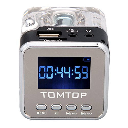 150 opinioni per Andoer Mini Digital Music portatile di MP3 / 4 Player Micro SD / TF USB Speaker