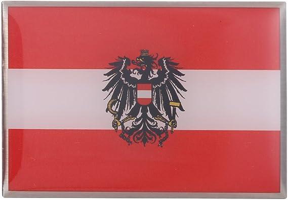 GuDeKe Pin de Bandera de Austria con el Broche de Águila Escudo ...