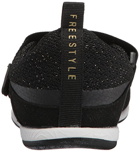 Coole Damesslipmode Sneaker Zwart
