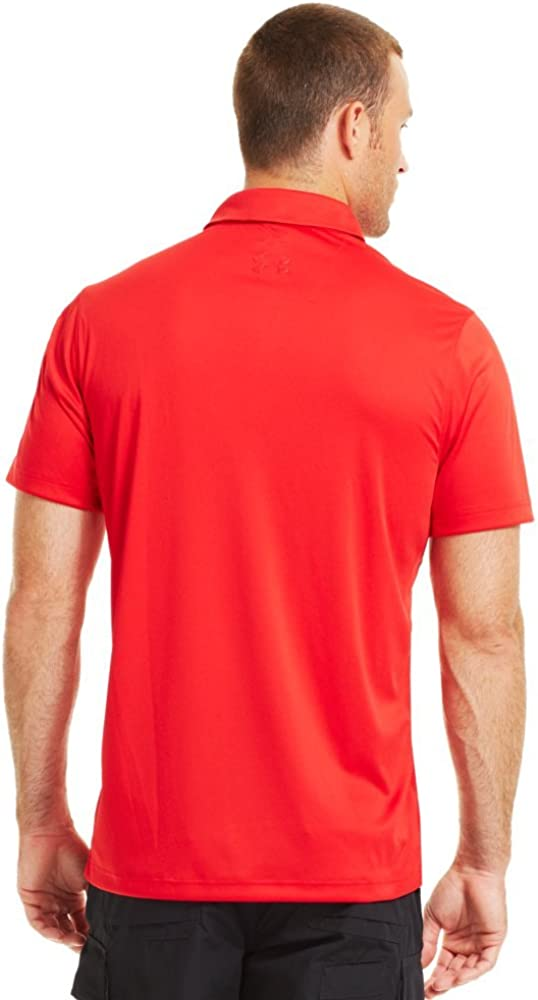 Under Armour Mens coldblack Tactical SOAS Polo XX-Large Red