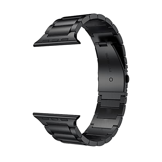 eeac1d3d797a Amazon.com: LDFAS Compatible for Apple Watch Band 44mm/42mm, Solid ...