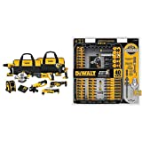 DEWALT DCK940D2 20V MAX Lithium Ion 9-Tool Combo Kit with DWA2T40IR IMPACT READY FlexTorq Screw Driving Set, 40-Piece